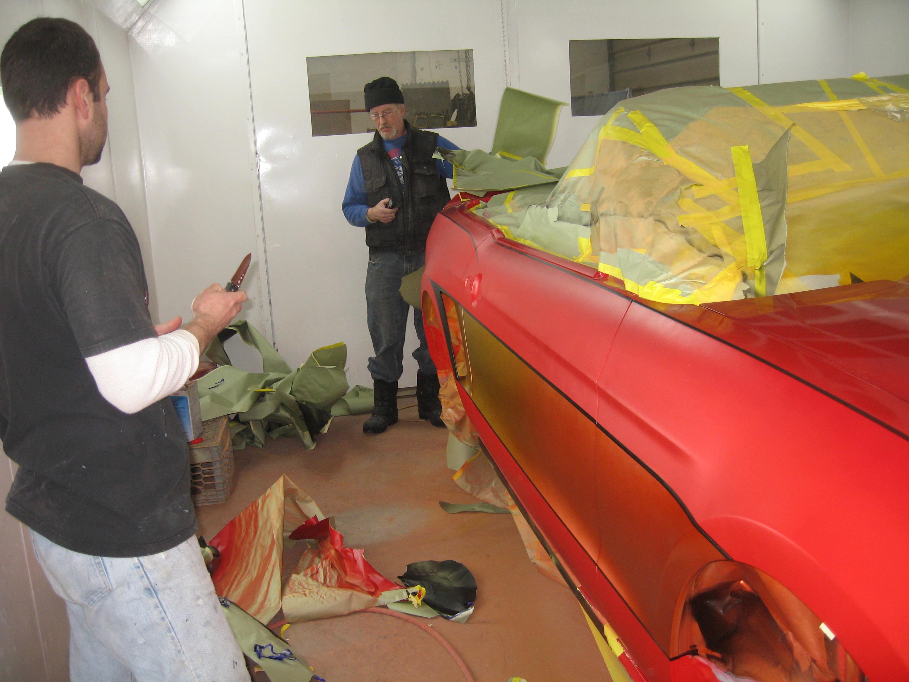 Custom Paint Work: Popular Mechanics Top Shop: Netcong Auto Restorations, 2011 Custom Mustang GT