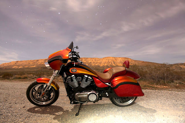 Side shot photo: Popular Mechanics Top Shop: Netcong Auto Restorations, 2011 Custom Victory S Motorcycle