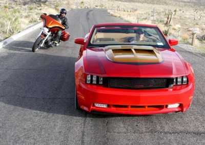 2011 Custom Mustang GT Convertible