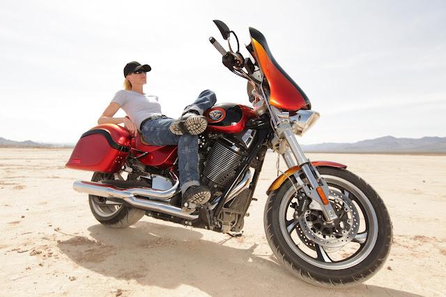 Girl on Motorcycle: Popular Mechanics Top Shop: Netcong Auto Restorations, 2011 Custom Victory S Motorcycle